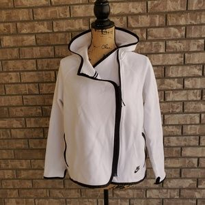 Nike Asymmetrical hoodie light women's jacket